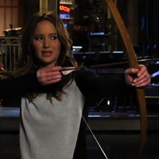 Jennifer Lawrence in Saturday Night Live Promo (Video)