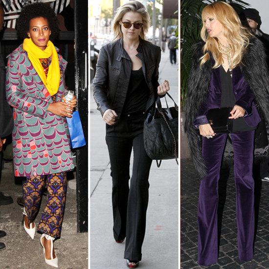 Wide Leg Pants Trend 2013