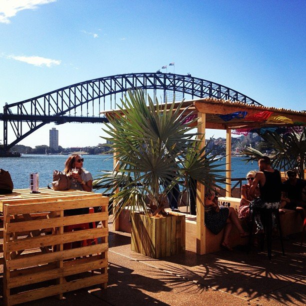 You can't get much prettier than the view from our after-work drinks location! Sydney knows how to impress.