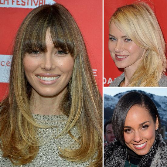Jessica Biel: Casual Celeb Hair, Makeup & Beauty At Sundance