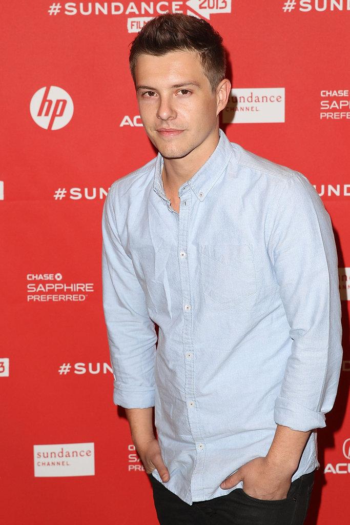 Xavier Samuel at the Sundance Film Festival.