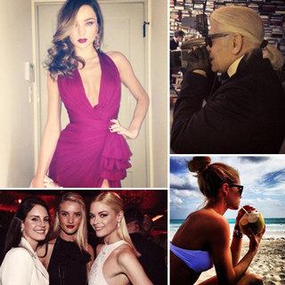 Celebrity Instagram Phots: Fashion, Beauty, Miranda Kerr