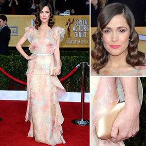 Rose Byrne: SAG Awards Red Carpet Dresses 2013