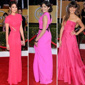 Red Carpet Colour Trend at 2013 SAG Awards: Hot Pink!