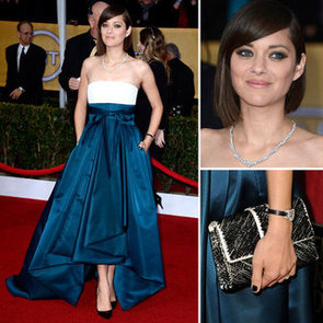 Marion Cotillard in Christian Dior Couture 2013 SAG Awards