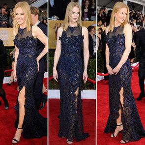 Nicole Kidman: SAG Awards Red Carpet Dresses 2013