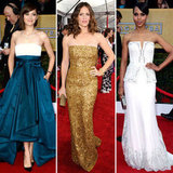 SAG Awards 2013 Red Carpet Strapless Dress Trend