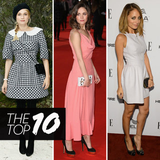 Top Ten Best Dressed Celeb List: Diane Kruger Olivia Palermo