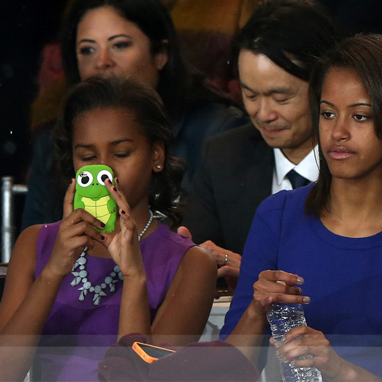 Sasha Obama iPhone Case