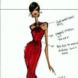 See Jason Wu's Inauguration Dress Sketch!