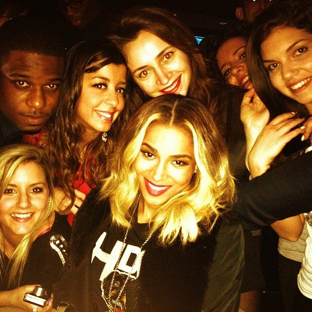 Ciara spent time with her fans in London. Source: Twitter user ciara