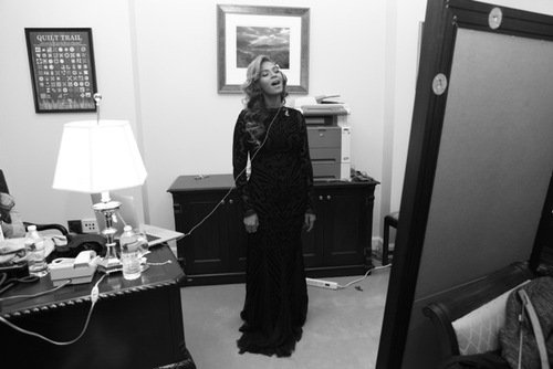 Beyonce Sings the National Anthem at President Obama's Inauguration
