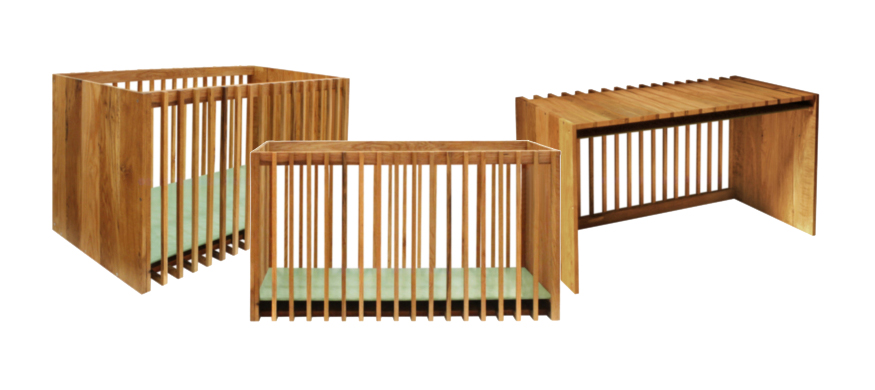 Nurseryworks District Crib