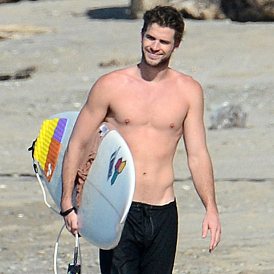 Liam and Chris Hemsworth Shirtless in Costa Rica | Pictures
