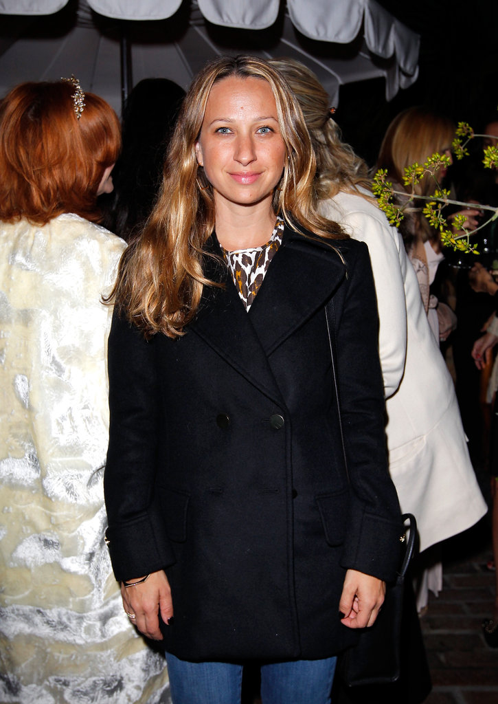 Jennifer Meyer was on hand to check out Ferragamo's Spring runway collection in LA.