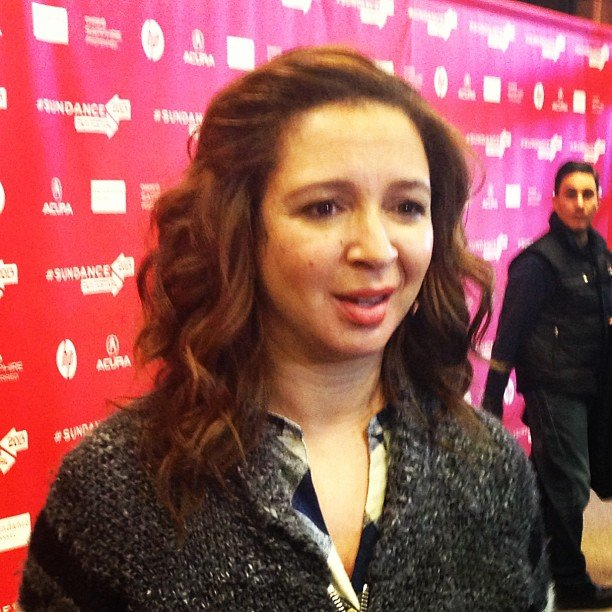 Molly chatted with Maya Rudolph at the premiere of The Way, Way Back.