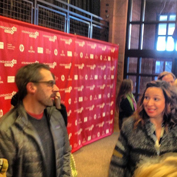 Steve Carell and Maya Rudolph caught up at The Way, Way Back premiere.