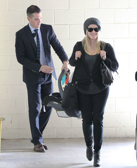 Reese Witherspoon and Jim Toth took Tennessee Toth out in LA.