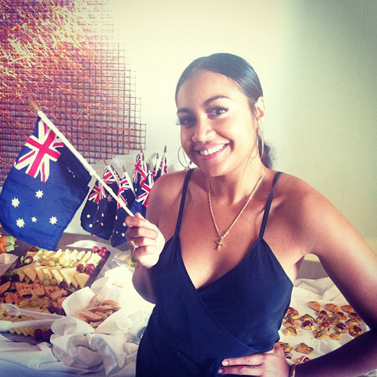 Celebrity Instagram Pictures From Australia Day 2013