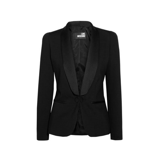 Blazer, approx $253, Love Moschino at The Outnet