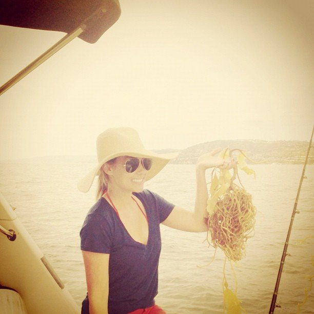 Lauren Conrad didn't have much luck after nine hours of fishing.  Source: Instagram user laurenconrad