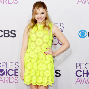 Chloe Moretz Yellow Simone Rocha Dress For Sale