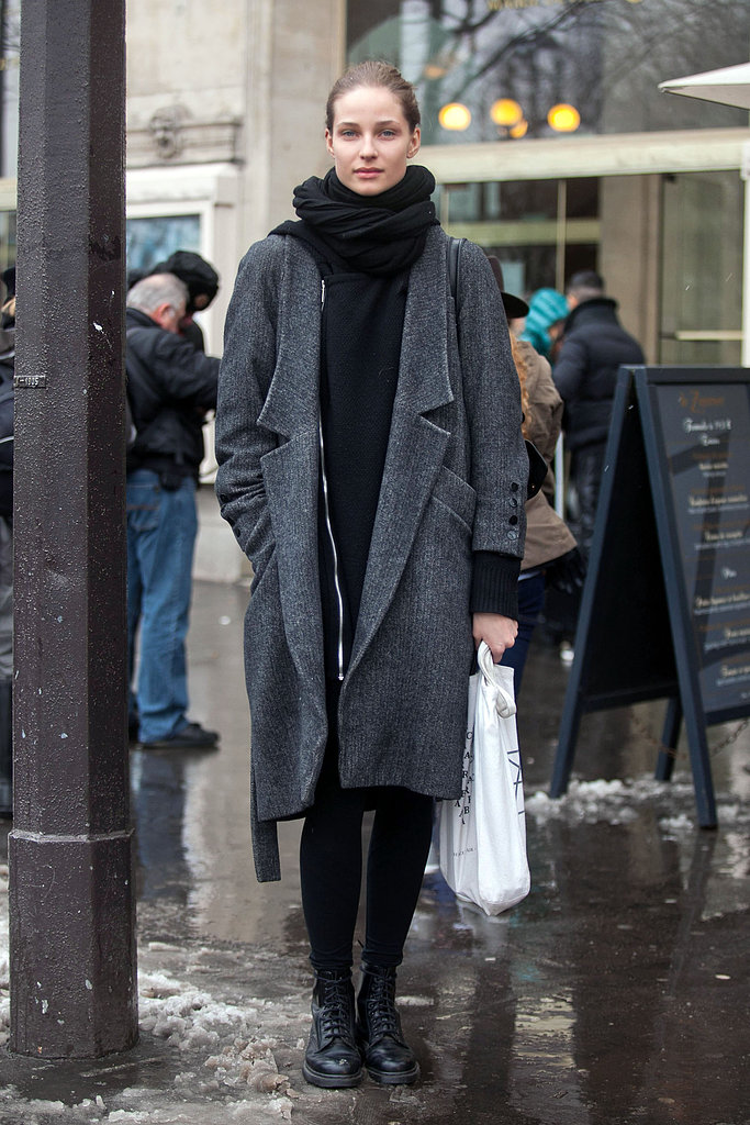 Classic Winter wear, in the best way possible. Source: Adam Katz Sinding