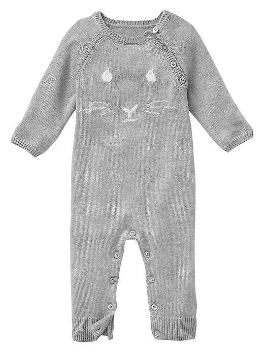 Baby Gap Peter Rabbit Intarsia One-Piece
