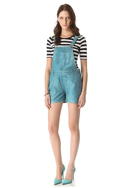 The much-cooler version of the overalls we grew up in — these Paul & Joe Sister Moonwalk Overalls ($490) are crafted in leather.