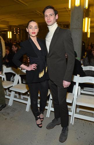 Emilia Clarke and Cory Michael