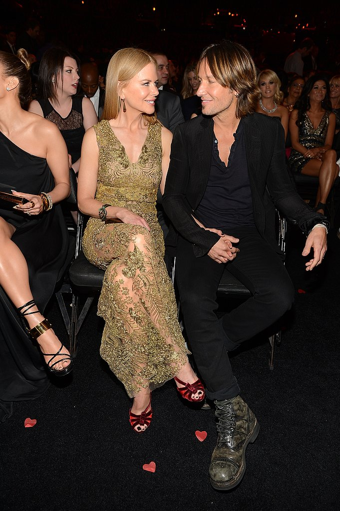 Keith Urban and Nicole Kidman shared a sweet look.
