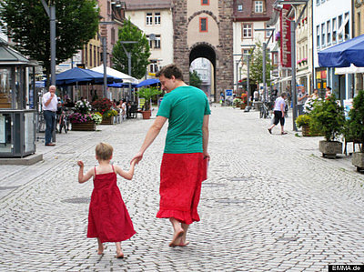 Father Wears Skirts to Support Son