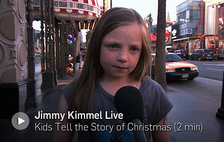 Kids Tell the Story of Christmas (VIDEO)