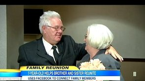Brother and Sister Reunite After 65 Years (VIDEO)