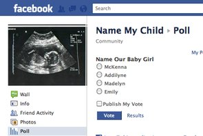 Couple Turns to Facebook To Name Their Baby