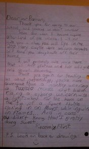 9-Year-Old Boy Writes a Must-Read Thank You Letter