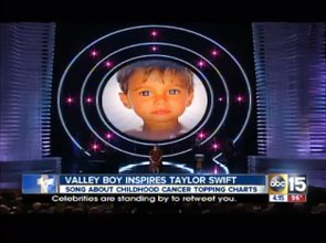 (VIDEO) Mom Touched By Taylor Swift's Song About Her Son