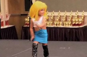 3-Year-Old Pageant Contestant Dressed as Prostitute Sparks Outrage (VIDEO)