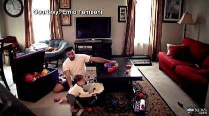Dad Uses Video to Show Mom What Happens