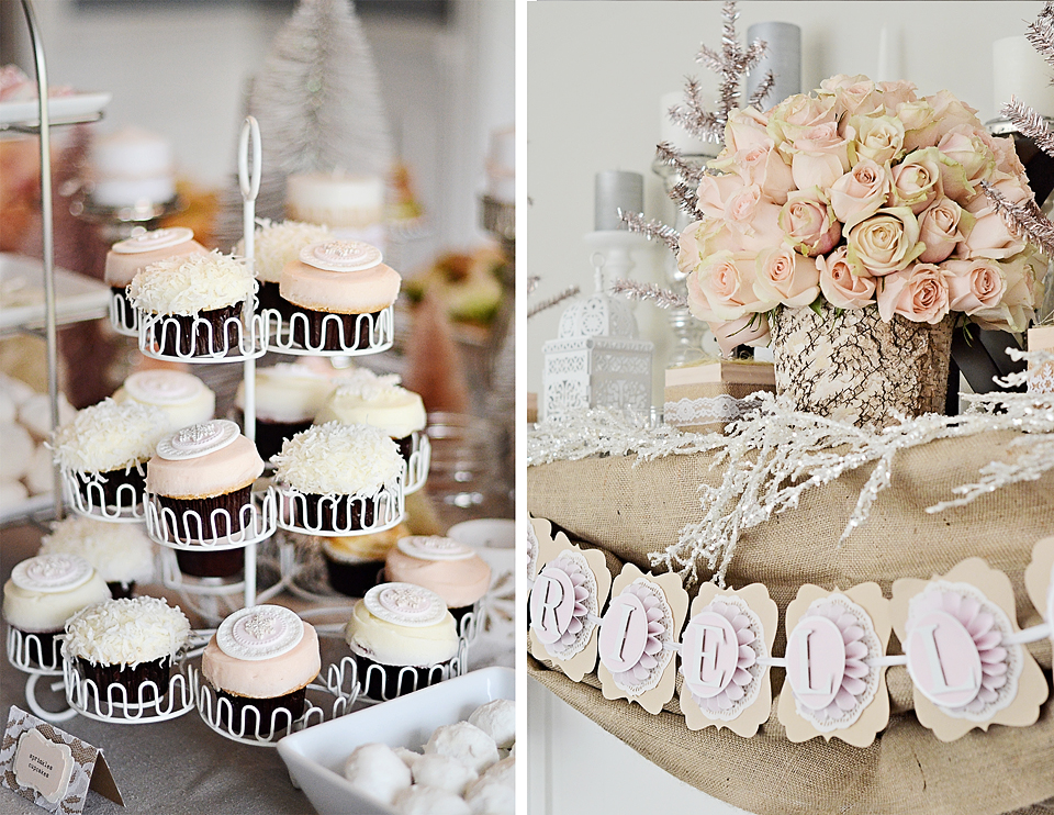 Sweet Stuff | A Magical Winter Wonderland First Birthday Party | POPSUGAR Moms