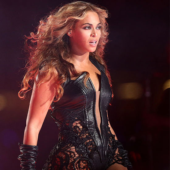 See Beyonce's SuperBowl Leather Costume Up Close!