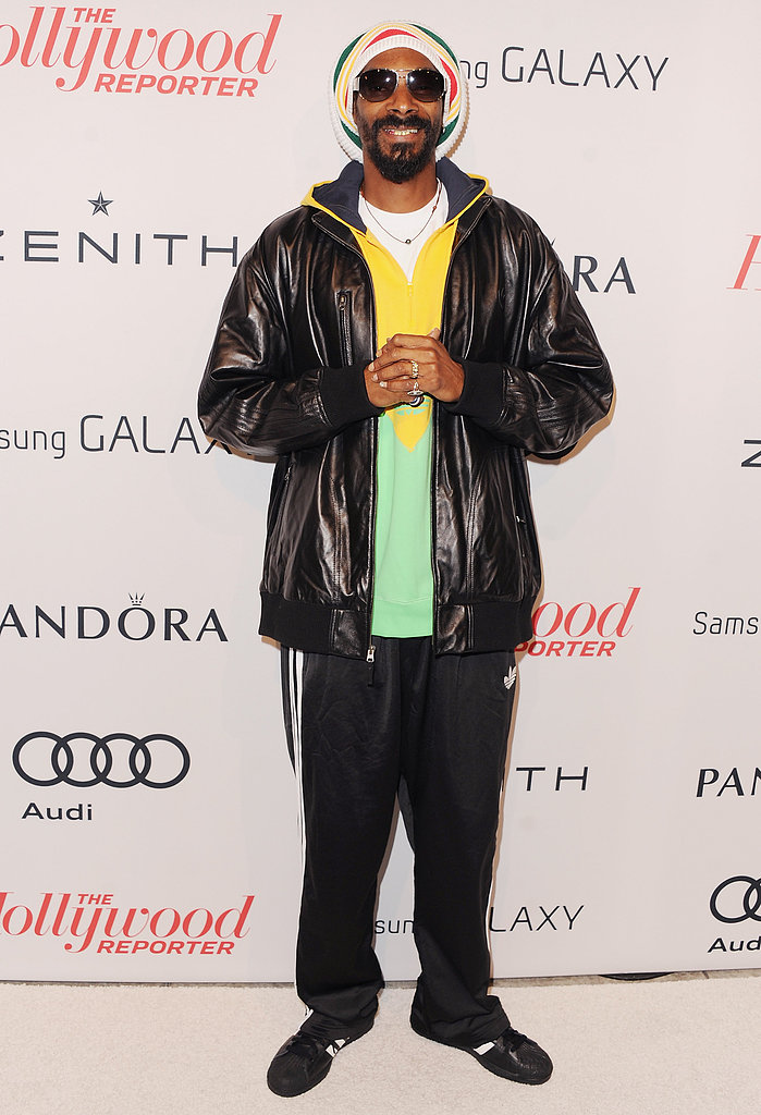 Snoop Dogg walked the carpet at the event.