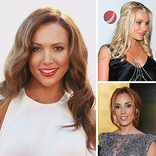 Kyly Clarke and Other WAGs at the Allan Border Medal