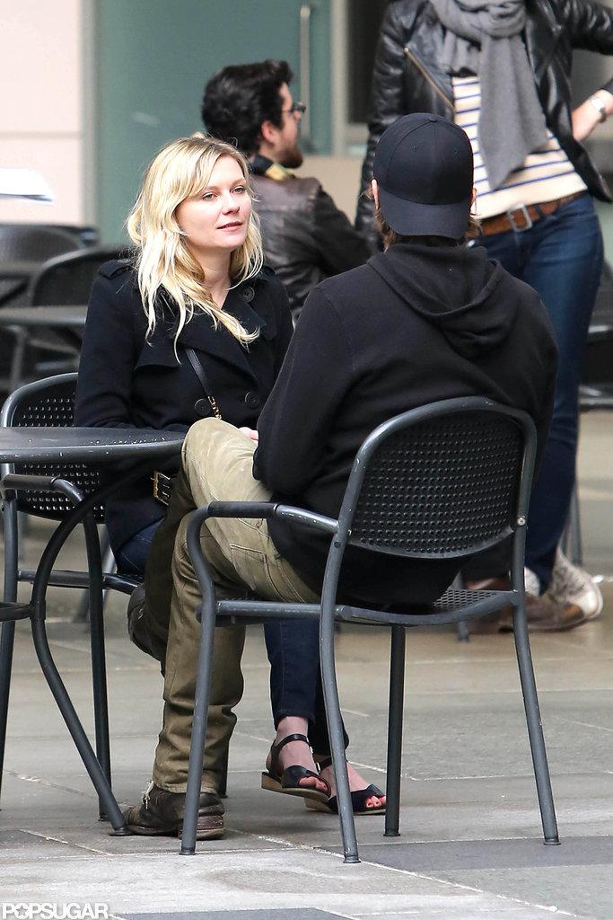 Kirsten Dunst and Garrett Kirsten Dunst 2014 Boyfriend