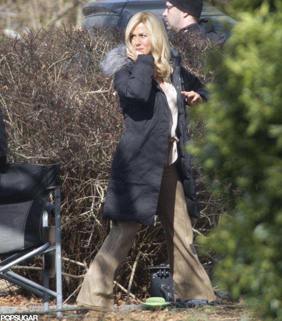 Jennifer Aniston filmed in Connecticut.