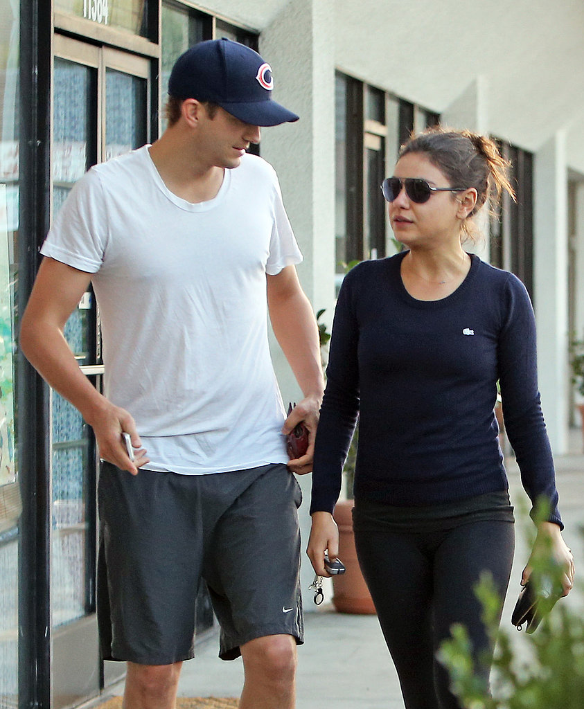 They shared an LA gym date in October 2012.