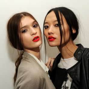 Costello Tagliapietra Hair & Makeup | Fashion Week Fall 2013