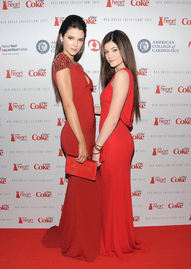 Kendall Jener and Kylie Jenner posed for photos in NYC.