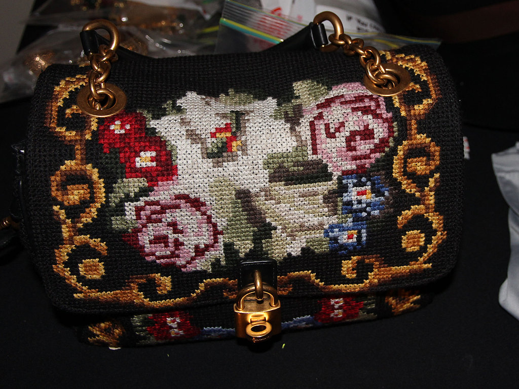 The coolest kind of tapestry bag, courtesy of Dolce & Gabbana.