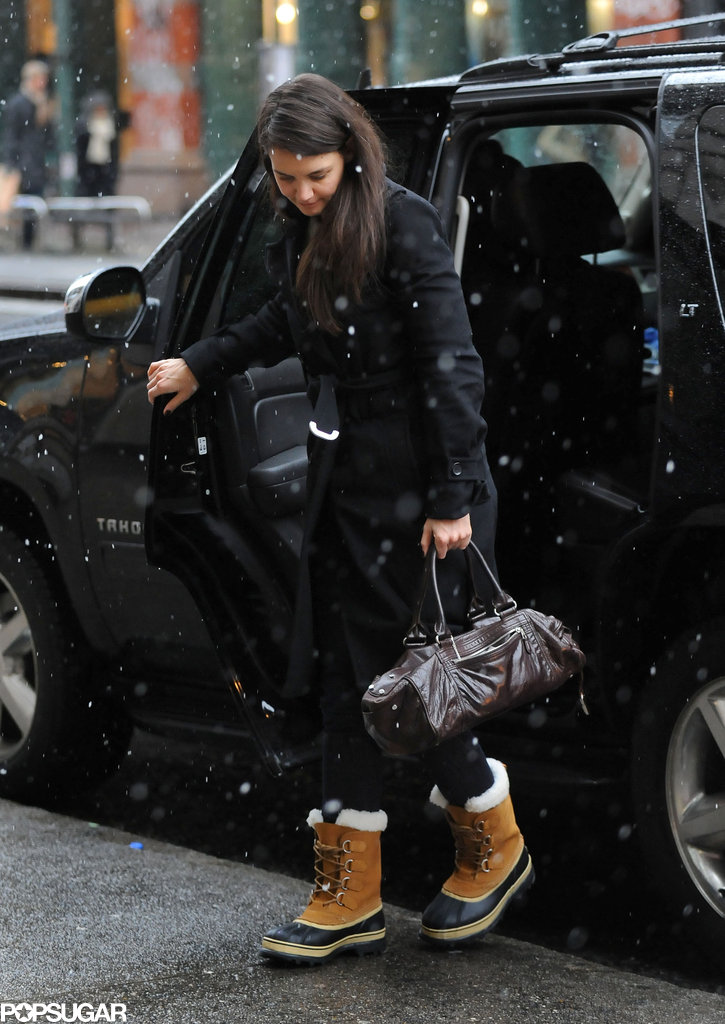 Katie Holmes stepped out by herself in NYC.